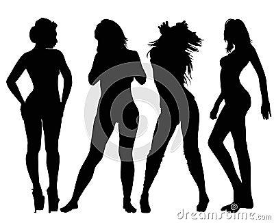 Models Silhouette
