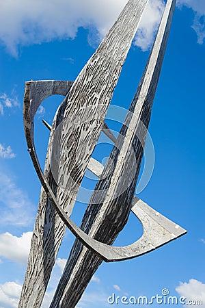 Moden sculpture