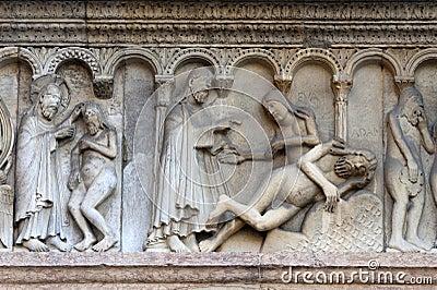 Modena (Emilia-Romagna, Italy) - Bas-relief