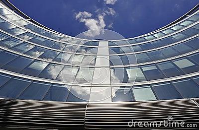 Moder architecture in Warsaw