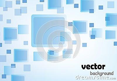Moder blauer Hintergrund mit Beispieltext
