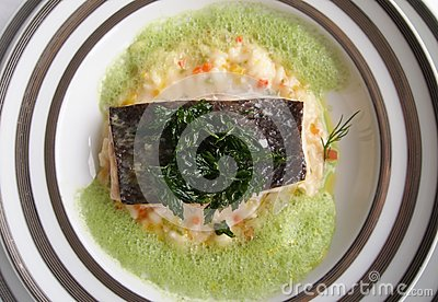 Moder cuisine - Grilled Fish