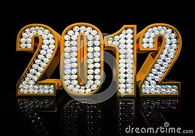 Modern 2012 year