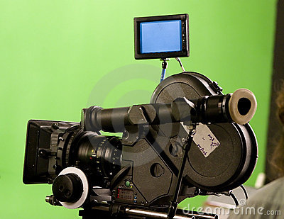 Modern 35 mm Film Camera