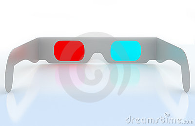 Modern 3D cinema glasses