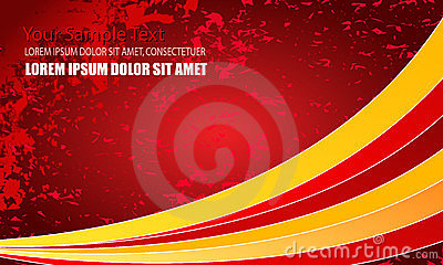 Modern abstract business background
