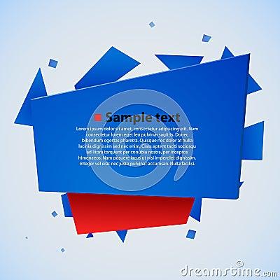 Modern abstract vector illustration