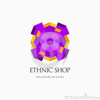 Modern abstract vector logo or element design. Best for identity and logotypes. Simple shape. Vector Illustration