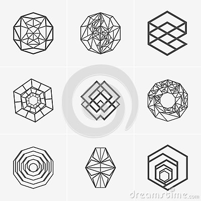 Free Modern Abstract Vector Logo Or Element Design. Best For Identity And Logotypes. Simple Shape. Royalty Free Stock Photos - 89955558