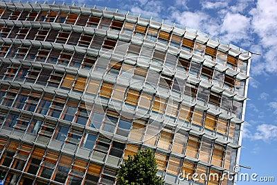 Modern administrative building