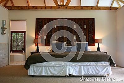 Modern African interior