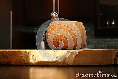 Modern African interior kitchen utensil