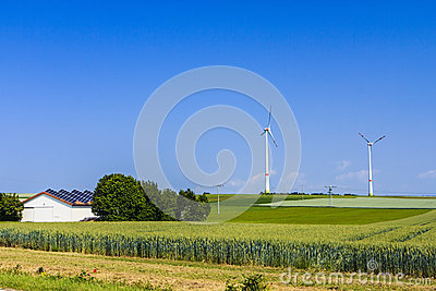 Modern Agriculture Stock Photo - Image: 43302053