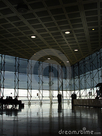Free Modern Airport Hall Stock Photos - 1531683
