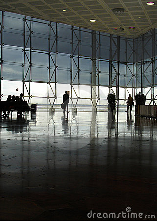 Free Modern Airport Hall Stock Images - 1531684