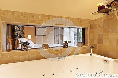 Modern apartment, bathroom