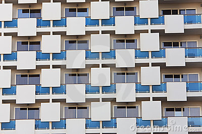 Modern Apartment Building Architectural Pattern
