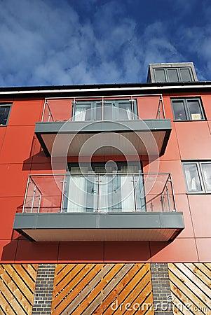 Free Modern Apartments Royalty Free Stock Photo - 22963525