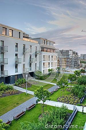 Free Modern Apartments Stock Photo - 3858910