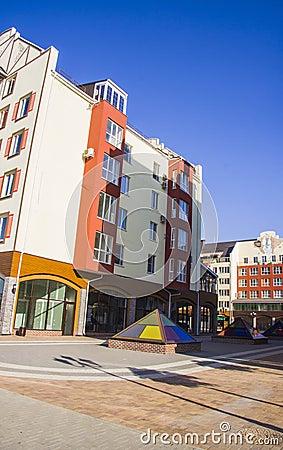 Free Modern Apartments Stock Photo - 45535510