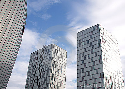 Modern apartments in Almere