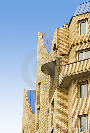 Free Modern Apartments Brick H Royalty Free Stock Images - 2155169