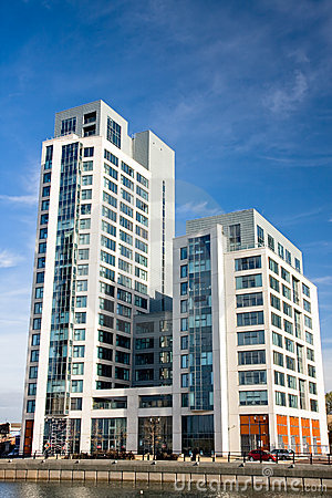 Free Modern Apartments In Liverpool Stock Image - 11827101