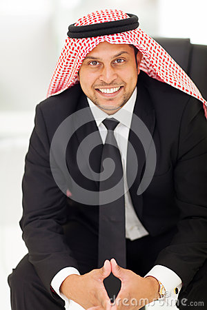 Modern arab businessman