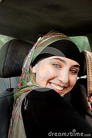 Modern Arabian girl