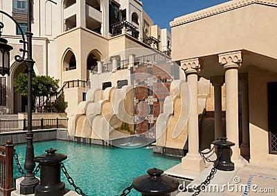Modern arabic city