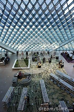 Modern architecture Editorial Photo