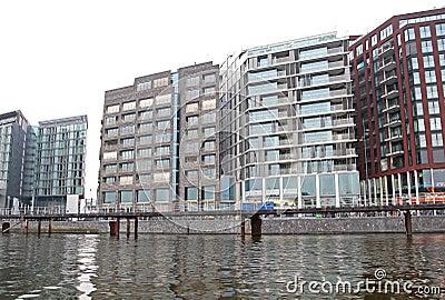 Modern architecture in Amsterdam, Netherlands