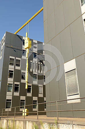 Modern architecture in Duisburg Editorial Image