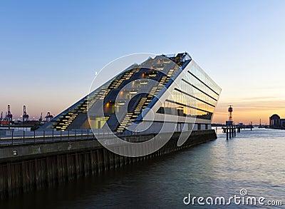 Modern Architecture at Hamburg Harbor