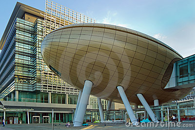 Modern Architecture in The Hong Kong Science Parks