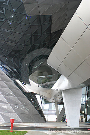 Modern architecture in Munich