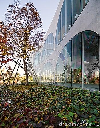 Modern architecture outdoor
