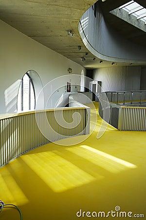 Modern architecture scene