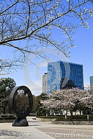 Modern architecture in Tokyo, Japan