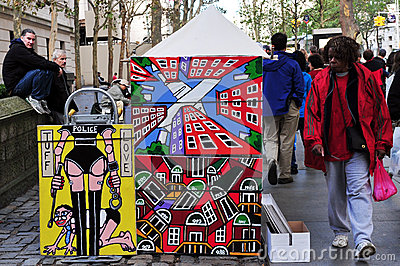 Modern Art paintings in Manhattan New York City