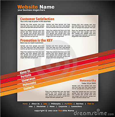 Modern Artistic WebDesign Template