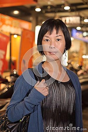 Modern Asian beauty