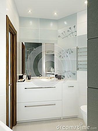 Afbeeldingen moderne grijze badkamers sydati badkamer wit en grijs laatste design badkamers u - Witte badkamer en bruin ...