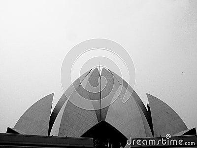 Modern Bahai temple