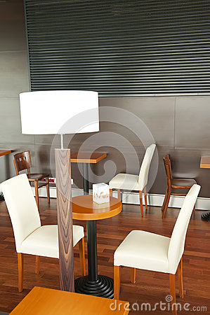 Modern bar interior