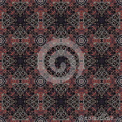 Modern baroque geometric seamless pattern stock for Modern baroque art