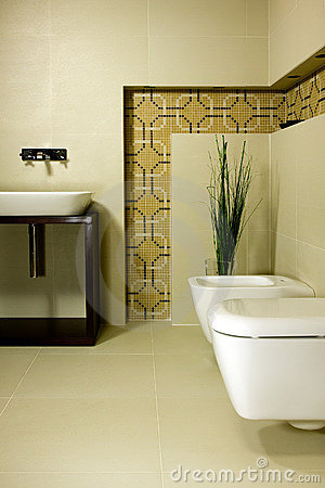 Free Modern Bathroom Stock Photography - 5229982