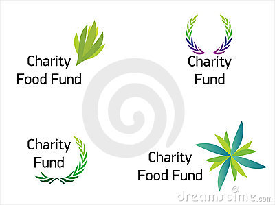 Modern and beautiful charity fund logo
