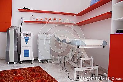 Modern beauty center spa