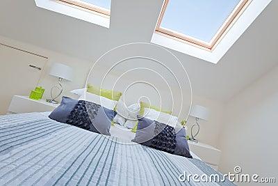 Modern bedroom loft